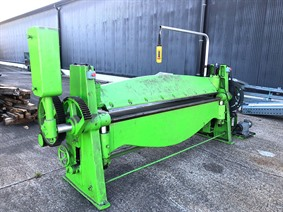 ZM 2550 x 2 mm, Hydraulic & Mechanical  folding presses