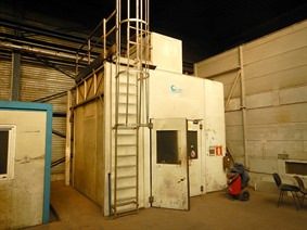 Garmat spraybooth, Powdercoating installation