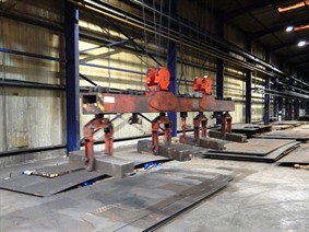 Cluma lifting magnet 8 ton, Ponts Roulants, Palans & Grues