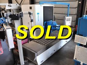 Correa A25/25 X: 2500 - Y: 1200 - Z: 1000 mm CNC, Bed milling machines with moving table & CNC