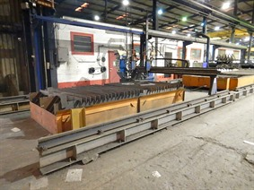 Messer Griesheim Cortina M4000, Gas cuttingmachines (gas + plasma)