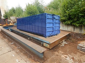 Widra weighbridge for containers, Varia