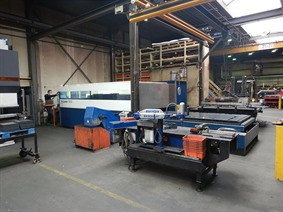 Trumpf TruLaser 3030 3000 x 1500 mm 3200 Watt, Laser cutting machines