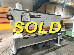 LVD MVCS 3100 x 13 mm, Hydraulic guillotine shears