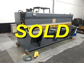Haco CH 3050 x 6 mm, Hydraulic guillotine shears
