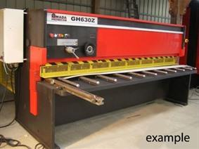 Amada GH 3100 x 6 mm, Hydraulic guillotine shears