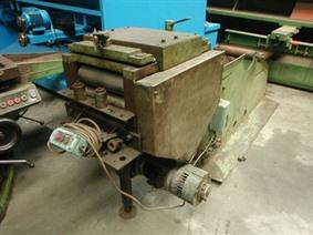 ZM straightener 360 x 5 mm, Coiler straightening machines