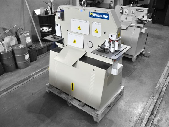 Kingsland 60 compact, Stamping & punching press thin metalsheet
