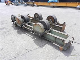 SAF  EBF 40 ton, Turning gears - Positioners - Welding dericks & -pinchtables