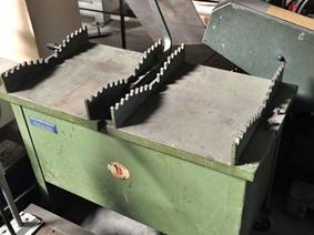 Vertical up stroke saw for tubes, Seghe circolari e abrasive a freddo