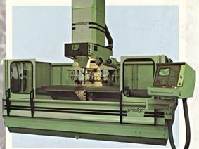 Unisign Univers 2 HF 35 CNC, Bed milling machine with moving column & CNC