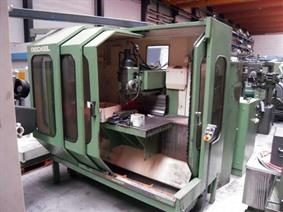 Deckel FP5 CNC X:710 - Y:600 - Z:500 mm, Bed milling machines with moving table & CNC