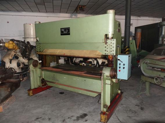 LVD  30 ton x 2100 mm, H-frame toggle lever presses