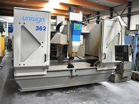 Unisign UV4 CNC X:1600 - Y:400 - Z:400mm, Vertical machining centers