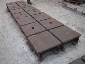 Table 4000x1000x300, Tables & Floorplates
