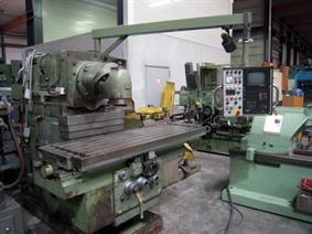 Tos FGSH 50 CNC X:1400 - Y:630 - Z:500 mm, Universele freesmachines conventioneel & CNC