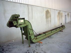 Mayfran chipconveyor 6000 x 400, Spare Parts for Machining centres