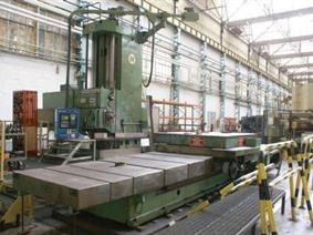 Ernault & somua Crucifor C CNC, Borers with travelling column, floor type