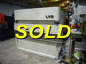 LVD PP 50 ton x 2500 mm, Hydraulic press brakes