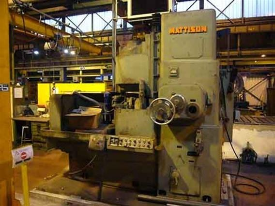 Mattison stone Ø 900 mm, Surface grinders with vertical spindle