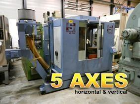 Schaublin 43 CNC UGV X:720 - Y:520 - Z:420 mm, Vertical machining centers