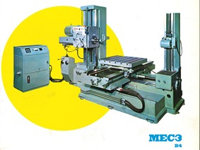 San Rocco Mec 3 B4 X:1100 - Y:1500 - Z:620mm, Table type borers