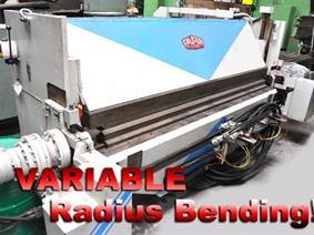 Favrin P3H 3000 x 3 mm CNC, Hydraulic & Mechanical  folding presses