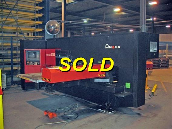 Amada Arcade 212 CNC, Stamping & punching press thin metalsheet