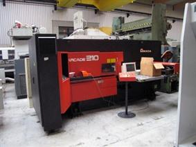 Amada Arcade 210 CNC, Stamping & punching press thin metalsheet