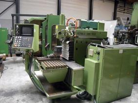 Hermle UWF1000 CNC X:700 - Y:550 - Z:500 mm, Bed milling machines with moving table & CNC