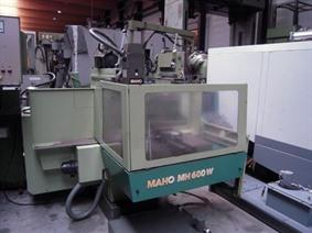 Maho MH 600W CNC X:600 - Y:400 - Z:400 mm, Universele freesmachines conventioneel & CNC