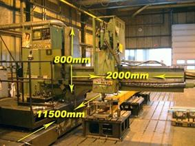 Mas Tos VSP 50 CNC ISO 40 - X:11750 mm, Radial drilling machines