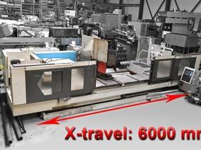 Stama Heavy Duty MC 550 S CNC, Bed milling machine with moving column & CNC