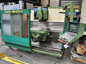 Maho MH 800C X:800 - Y:500 - Z:600 mm, Horizontal machining centers