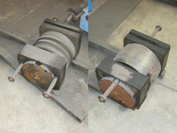 Favrin 100 ton, Plateroll / Dish end forming