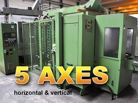 Schaublin 44 CNC X:520 - Y:520 - Z:420mm, Horizontal machining centers
