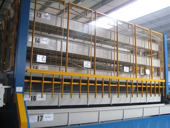 Marialum Stacking for bars and profiles, Storage & retrievel systems / Containers