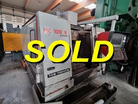 Tos Mas MC100V CNC X:1016 - Y:610 - Z:508mm, Vertical machining centers