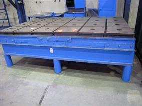 T-slot Table 3000 x 2000 mm, Tables & Floorplates
