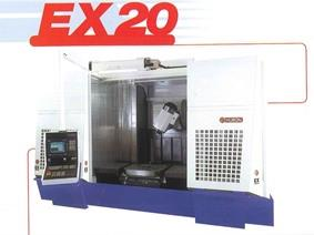 Huron EXC 20 CNC X:1600 - Y:700 - Z:800 mm, Bed milling machine with moving column & CNC