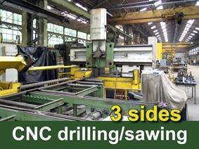 Trennjaeger SBM 1000 CNC saw/drill line, Circular & abrasive cold sawing machines