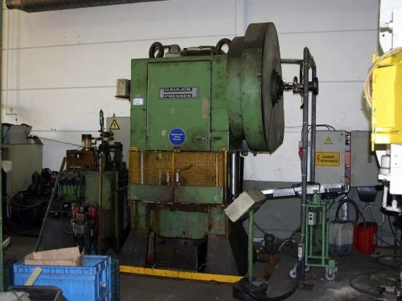 Haulick - Roos 4 colomn press, H-frame excentric presses