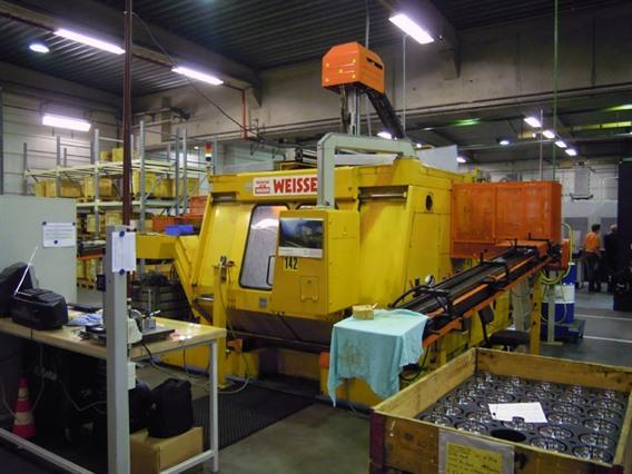 Weisser FR 23Q-2, Double spindle CNC Ø 355 x 430 mm