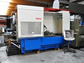 Huron EXV CNC X:1200 - Y:700 - Z:800 mm, Bed milling machines with moving table & CNC