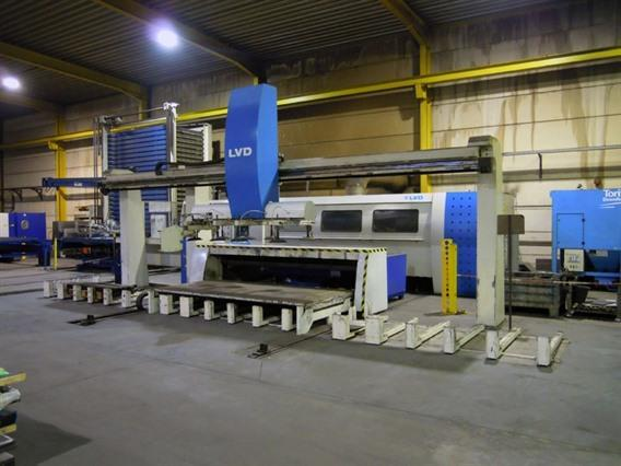 LVD Axel 3015L CNC, Laser cutting machines