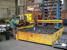 ESAB CXB 2025 1500x3000mm CNC, Gas cuttingmachines (gas + plasma)