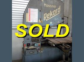 Mossner Rekord, Band sawing machines