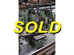 Dahlih DL-V1200 X:1200 - Y: 450 - Z:560 mm, Bed milling machines with moving table & CNC
