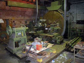 MFD Ø 2400, Centre lathes