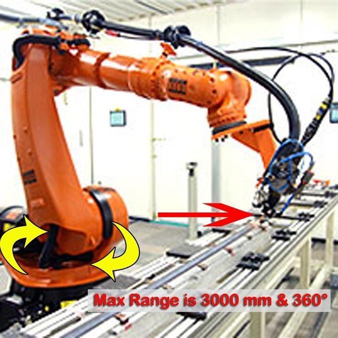 Trumpf - Kuka - YAG laser beam welding robot | Welding - robots, N° 6281